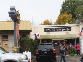 On The Way Cafe:  Perfect for Breakfast or Lunch with Friends & Family