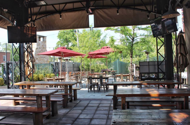 German style biergarten opens in port chester thursday - Village beer garden port chester ...